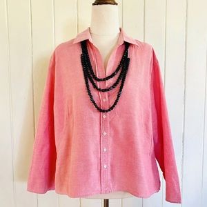 🌱 Vintage COUNTRY ROAD Sz XL   12 Buttoned Shirt
